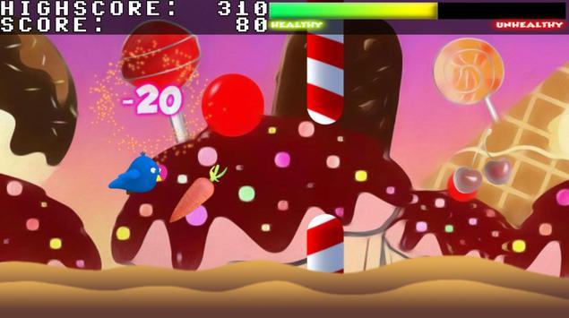 Flappy On-Diet Bird screenshot 2