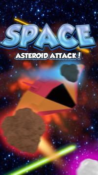 Space Asteroid Attack! poster