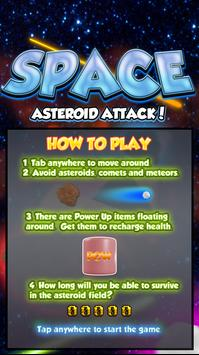 Space Asteroid Attack! screenshot 1