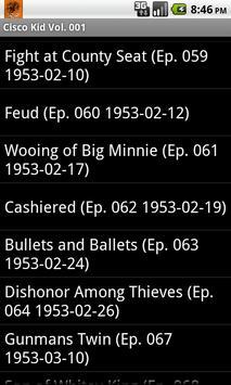 The Cisco Kid Radio Show V.001 screenshot 3