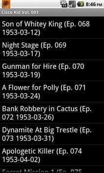 The Cisco Kid Radio Show V.001 screenshot 4