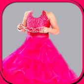 Princess dresses frames editor icon