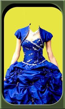 Princess dresses frames editor apk screenshot