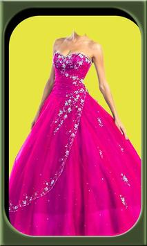 Princess dresses frames editor poster