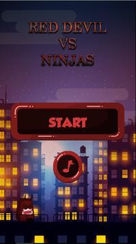 Red Devil VS Ninjas poster