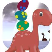 Dinosaur Ball: Egg Shoot icon