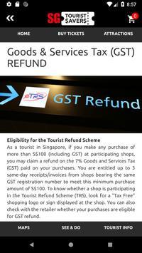 Reddot SG Tourist Savers screenshot 7