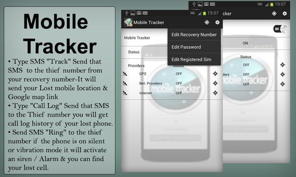 Lost Mobile Finder screenshot 1