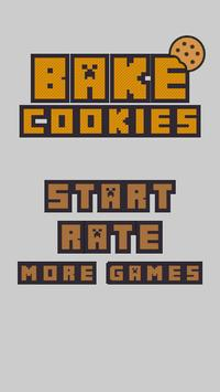 Bake Cookies Game apk screenshot