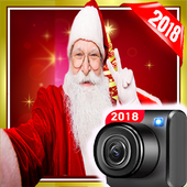 Take your photo with santa : chrismas images 2018 icon