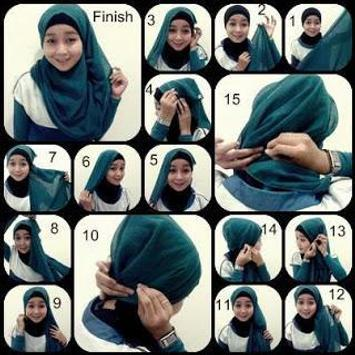 Tutorial Hijab Gambar Terbaru screenshot 3