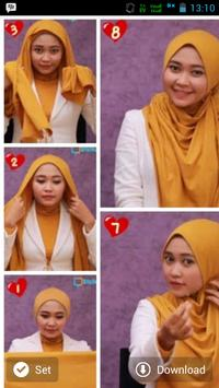 Tutorial Hijab Gambar Terbaru screenshot 2