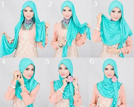Tutorial Hijab Gambar Terbaru screenshot 4