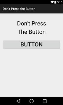Don't Press the Button poster