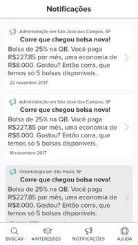 Quero Bolsa apk screenshot