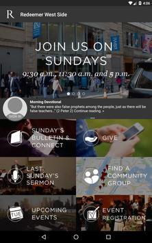 Redeemer Churches & Ministries apk screenshot