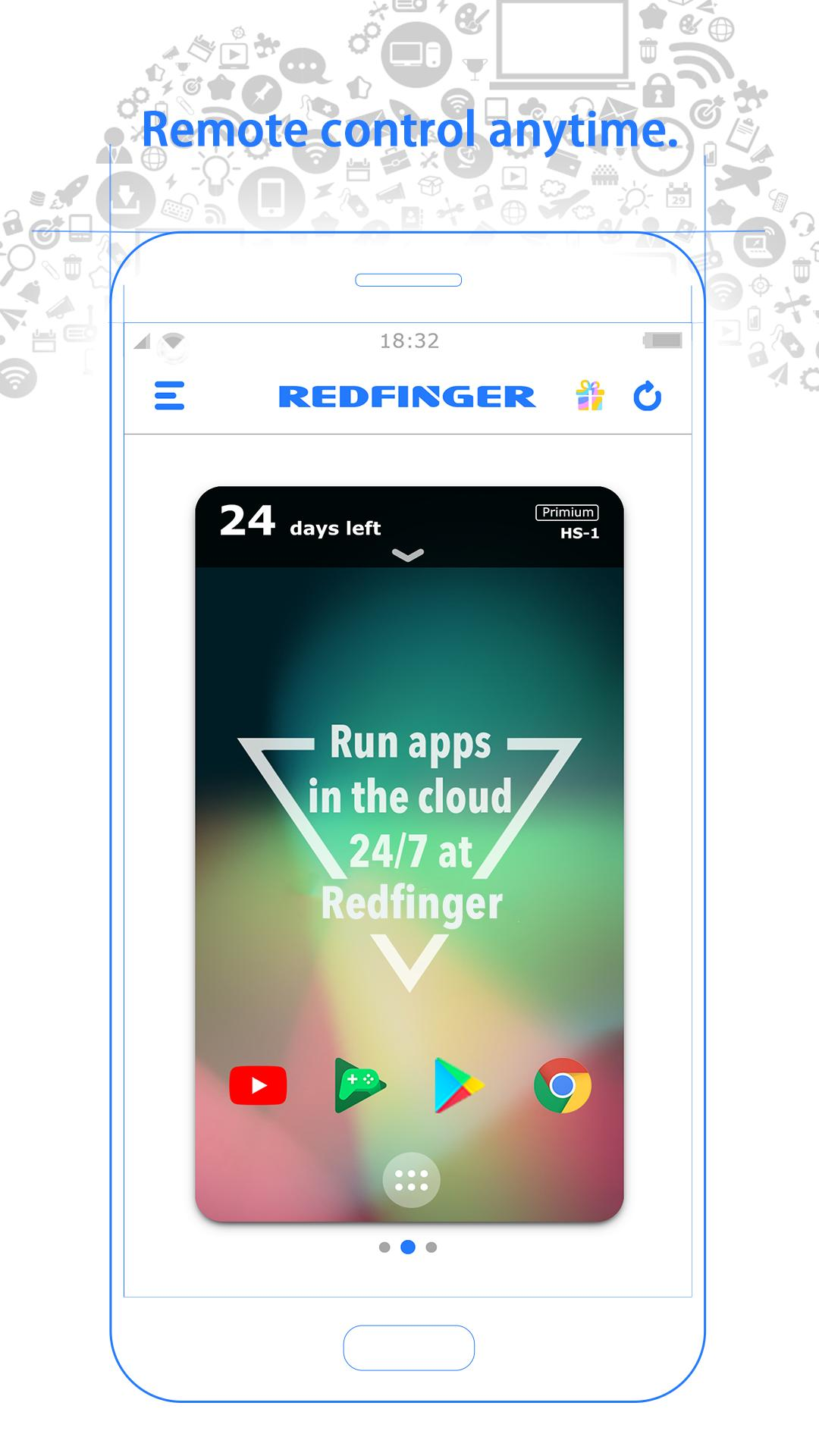 Cloud Mobile Emulator - Redfinger for Android - APK Download