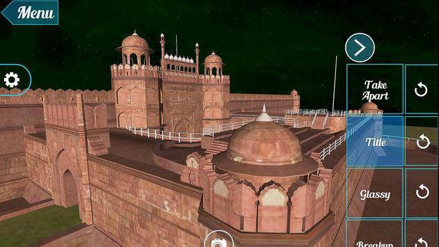 Red Fort 3D apk screenshot