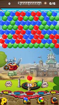 Bubbleshoot in Vikings Village apk screenshot