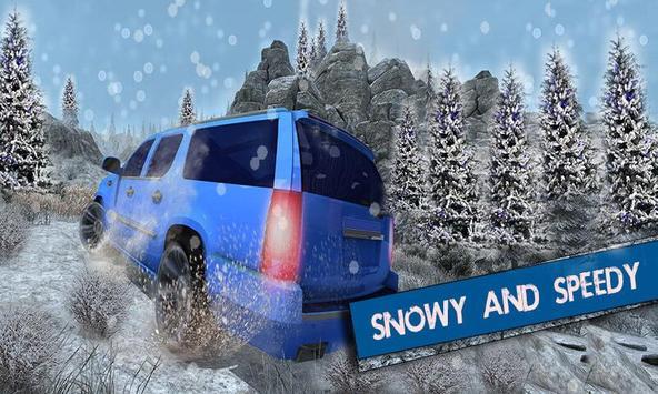 Offroad Escalade Snow Driving apk screenshot