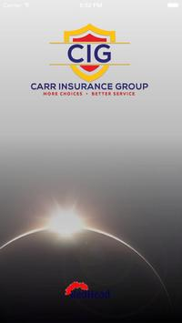 Carr Insurance Group poster