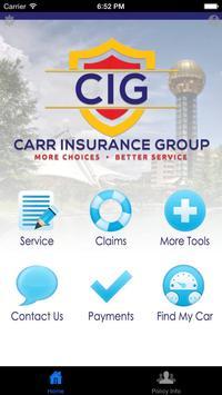 Carr Insurance Group screenshot 2