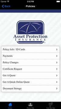 Asset Protection Insurance screenshot 4