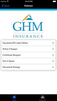 GHM Insurance apk screenshot