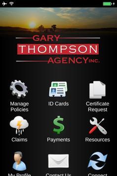 Gary Thompson Agency poster