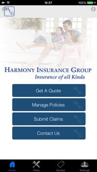 Harmony Insurance Group poster