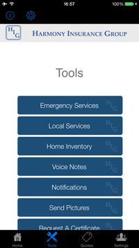 Harmony Insurance Group apk screenshot