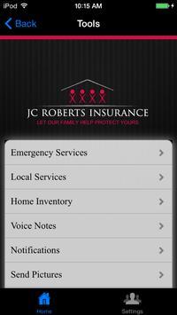 JC Roberts Insurance screenshot 1