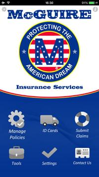 McGuire Insurance Services poster