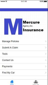 Mercure Insurance Agency poster