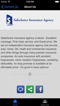Safechoice Insurance Agency screenshot 2