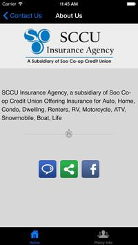 SCCU Insurance Agency apk screenshot
