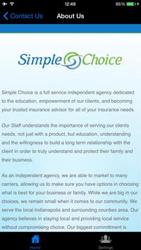 Simple Choice Insurance poster