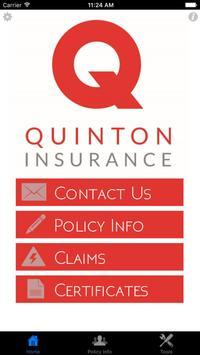 Quinton Insurance poster