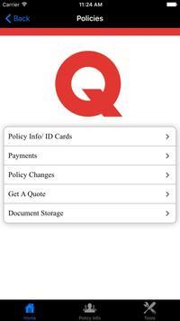 Quinton Insurance screenshot 1