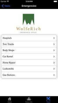 Wolfe Rich Insurance Group screenshot 4