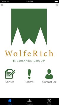 Wolfe Rich Insurance Group poster