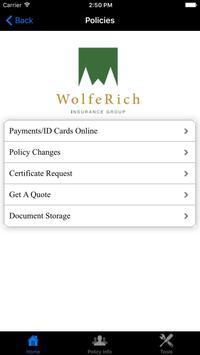 Wolfe Rich Insurance Group screenshot 1
