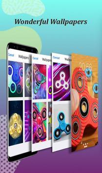 Fidget Spinner wallpaper lock screen prank screenshot 3