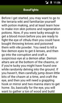 Guide for Terraria screenshot 3