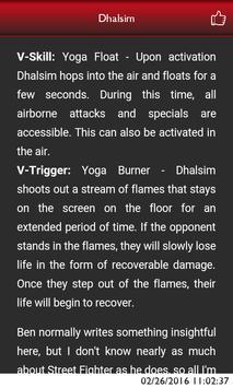 Guide for Street Fighter V apk screenshot