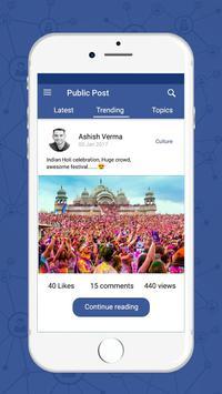 Public Post screenshot 2