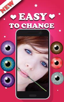 Eyes Color Editor App screenshot 1