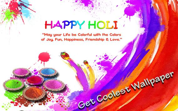 Holi Live Wallpaper Poster
