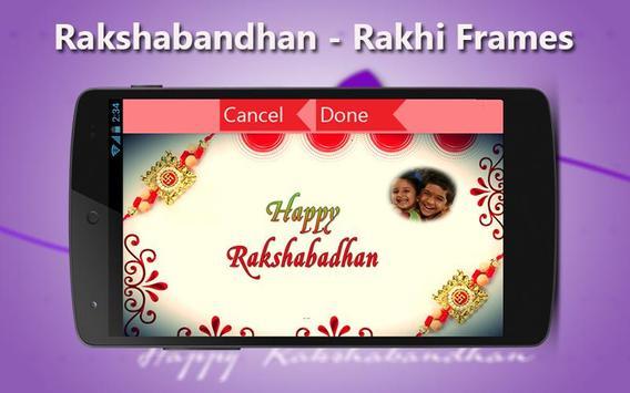 RakshaBandhan - Rakhi Frames apk screenshot