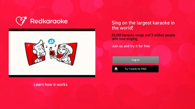 Red Karaoke for Android TV screenshot 1